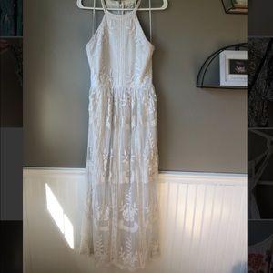 Altar'd State Floor Length Dress